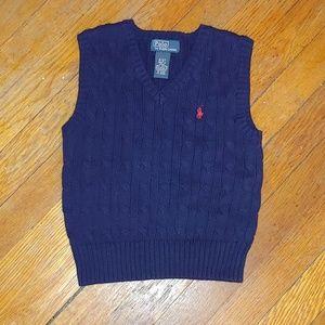 Polo sweater vest sz 3T